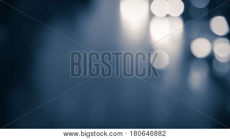 Abstract blurred path way for way, success, technology or business background
