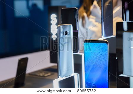 The New Samsung S8 At Fuorisalone 2017