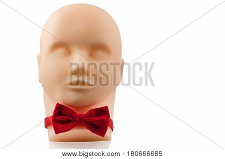 Manikin Head With Black Eyeglasses