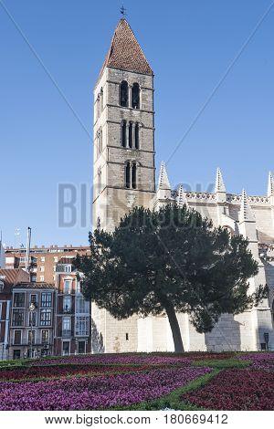 Valladolid (Castilla y Leon Spain): medieval church of Santa Maria la Antigua