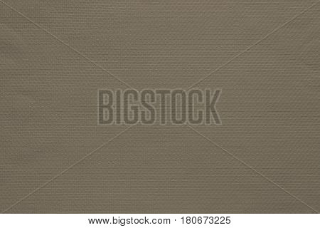 texture and background of fabric or cotton material of dark beige color