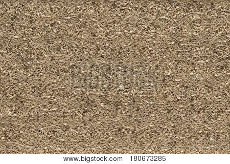 abstract texture and background of mesh fabric of sand color with beads and with spangles