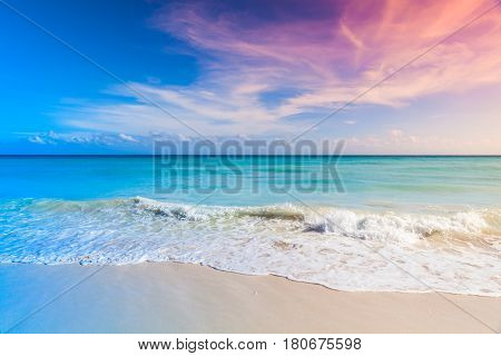 Tropical Beach Background, Saona Island