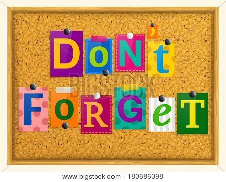 Don't forget text from magazine letters pinned to a cork notice board with push pins.