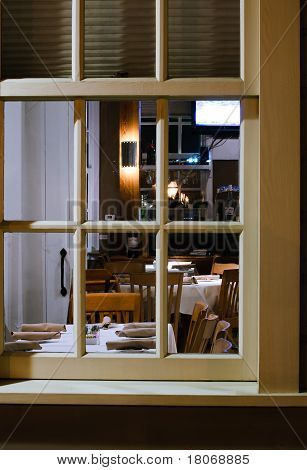 Window Into Restorant