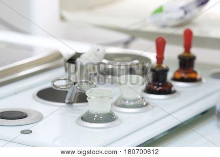 Medical equipment of  otolaryngologist