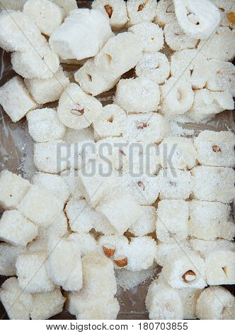 Raditional Dessert Baklava In A Tray