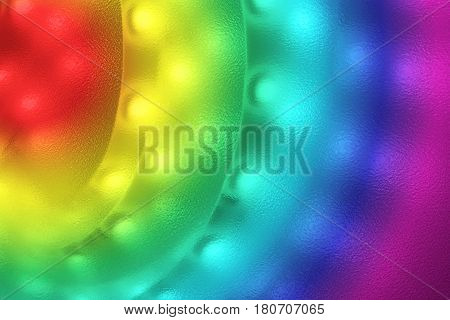 Light strip with light emitting diodes as background.