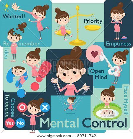 Pregnant Woman Mental & Volition