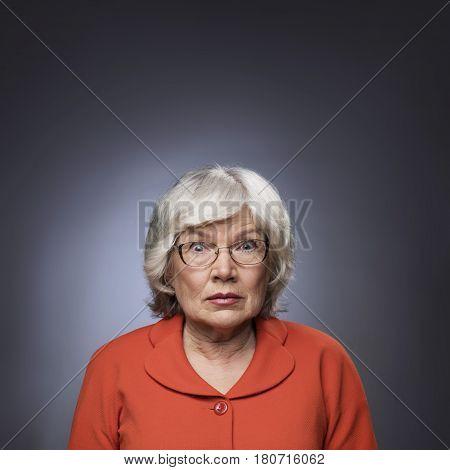 Funny Senior Lady