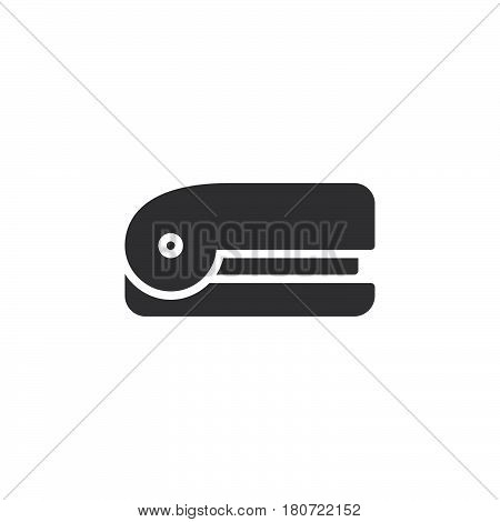 Stapler icon vector filled flat sign solid pictogram isolated on white. Symbol logo illustration. Pixel perfect