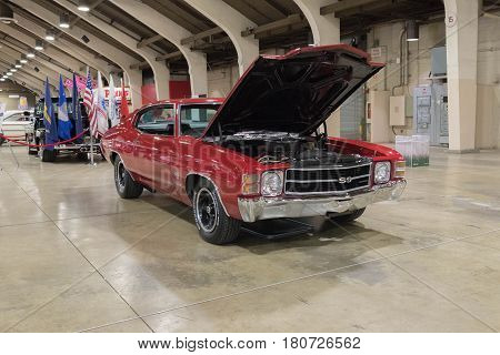 Chevrolet Chevelle Ss On Display