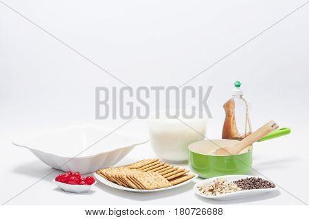 Napoleon dessert preparation : Napoleon dessert ingredients