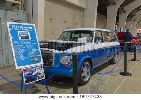 Studebaker Lark Wagonaire Daytona 1963 On Display