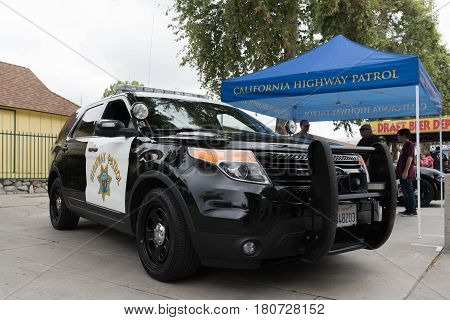 Lapd Ford Explorer On Display