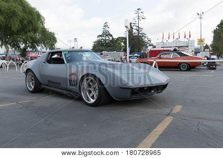 Chevrolet Corvette Stingray On Display
