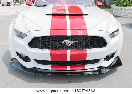 Ford Mustang On Display
