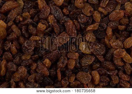 Sweet Raisins Background