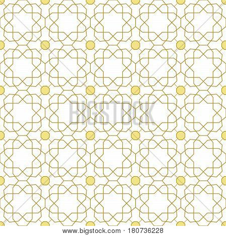 Seamless background for your designs. Modern vector ornament. Geometric abstract pattern