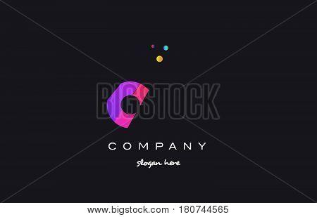 Oo O  Colored Rainbow Creative Colors Alphabet Letter Logo Icon