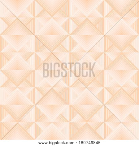 Seamless geometric pattern. Texture with rhombuses and gradient. Gentle colors.