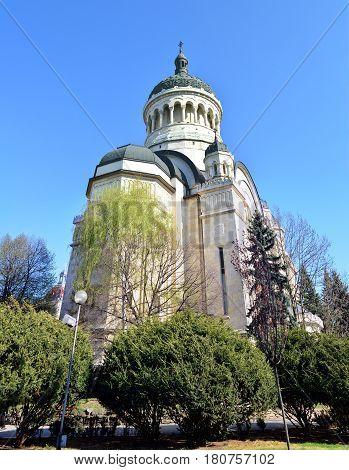 Cluj Napoca city Romania Archdiocesan Cathedral landmark architecture