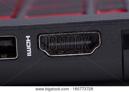 Sockets Hdmi Port Of Laptop