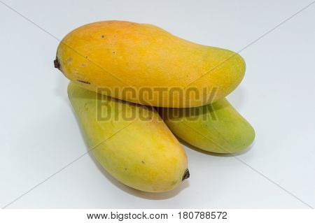 Close up of mango fruits.Research has shown antioxidant compounds in mango fruit have been found to protect against colon,breast,leukemia & prostate cancers.