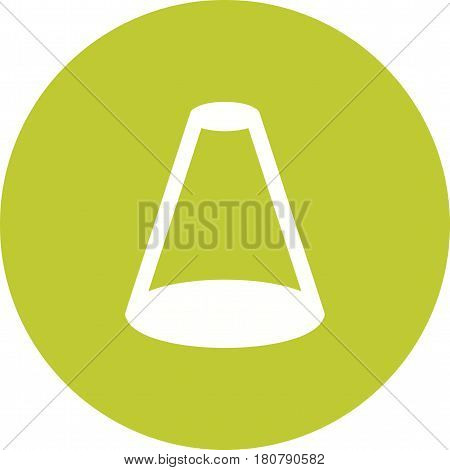 Focus, spotlight, flat icon vector image.Can also be used for web interface. Suitable for mobile apps, web apps and print media.