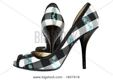 Shoes From A Textile