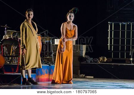 The Dramatic Performance Of Antigone