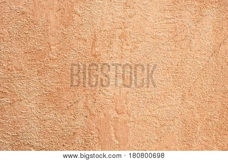 Embossed paper with a rough painted wall texture