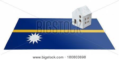 Small House On A Flag - Nauru