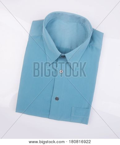 Shirt Or Man Dress Shirt On Background.