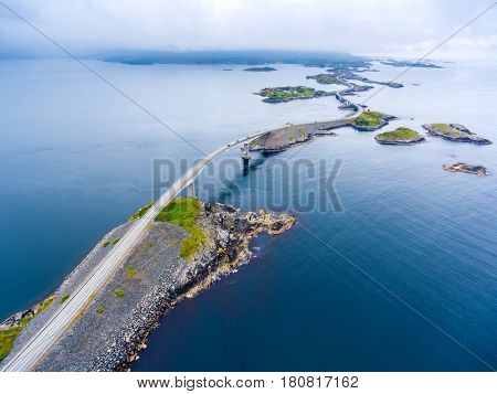 Atlantic Ocean Road or the Atlantic Road (Atlanterhavsveien) been awarded the title as