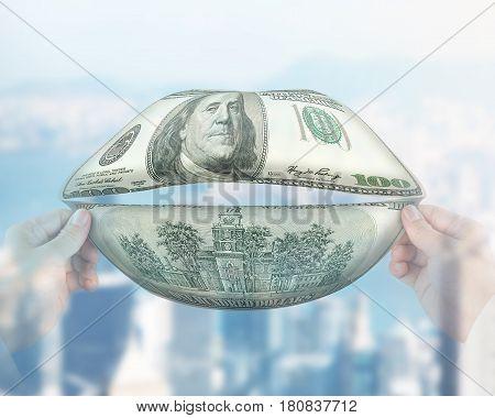 Money Talks Concept
