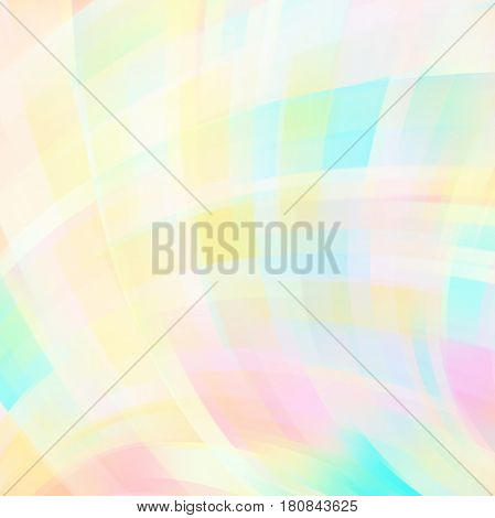 Abstract Colourful Background With Swirl Waves. Abstract Background Design. Eps 10 Vector Illustrati