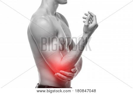 Elbow Pain Is Often Caused By Overuse. Many Sports, Hobbies And Jobs Require Repetitive Hand, Wrist