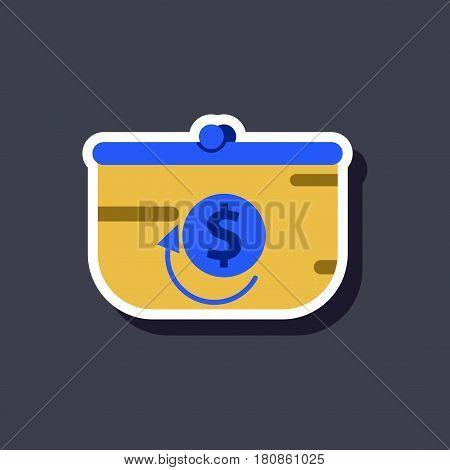 fashion patch , sale sticker purse discount coin