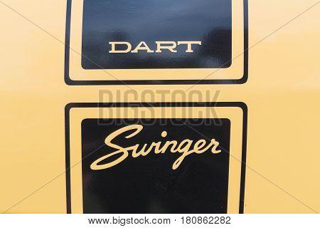 Dodge Dart Swinger On Display
