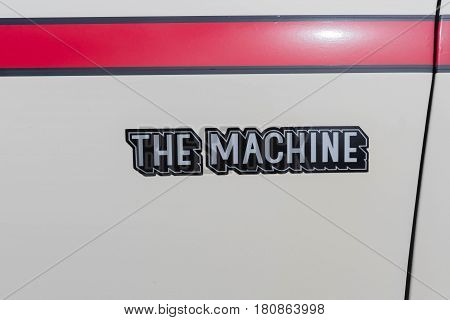 Amc Machine Emblem On Display