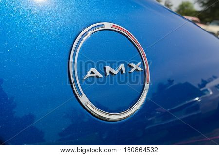 Amx Emblem On Display