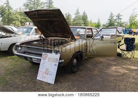 Plymouth Belvedere 1970 Lapd Detective Car