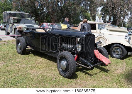Plymouth Pb Coupe On Display