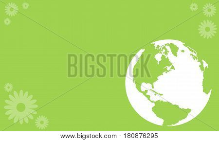 Vector art Happy Earth Day style collection stock