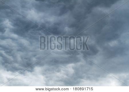 Dark clouds wheather