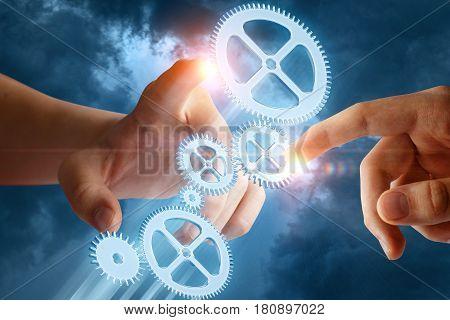 Businessmans Builds A Business System .