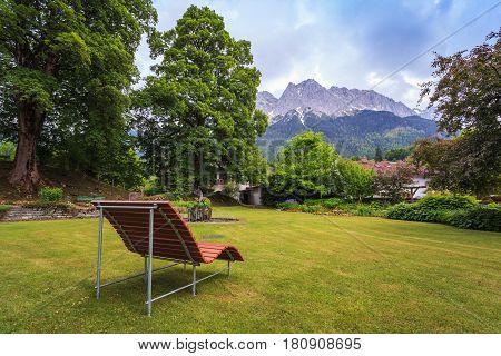 Zugspitze top of Germany at Garmisch Partenkirchen
