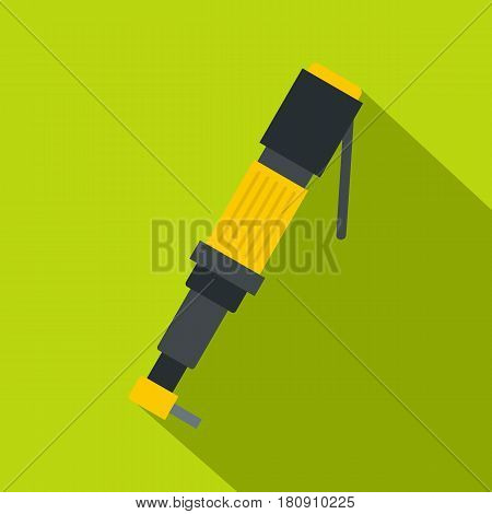 Pneumatic screwdriver icon. Flat illustration pneumatic screwdriver of vector icon for web