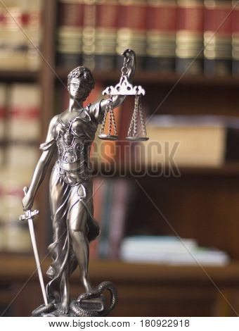 Law Offices Legal Statue Themis